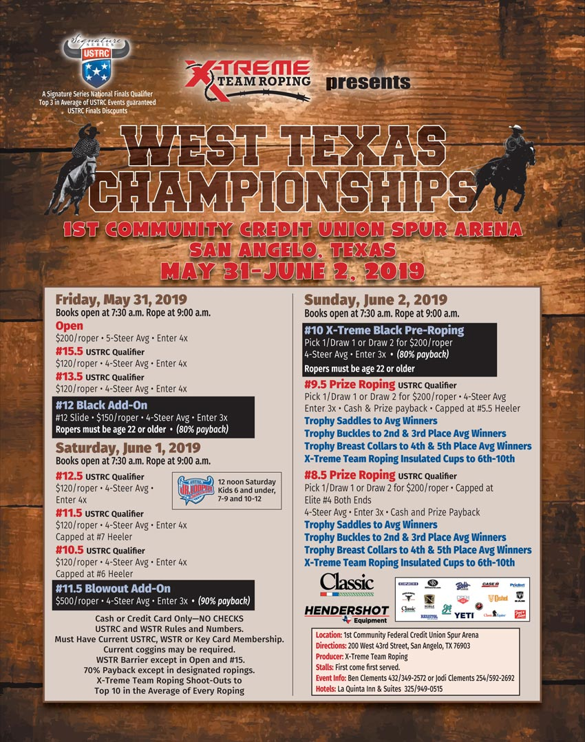 Ustrc West Texas Championships 2019