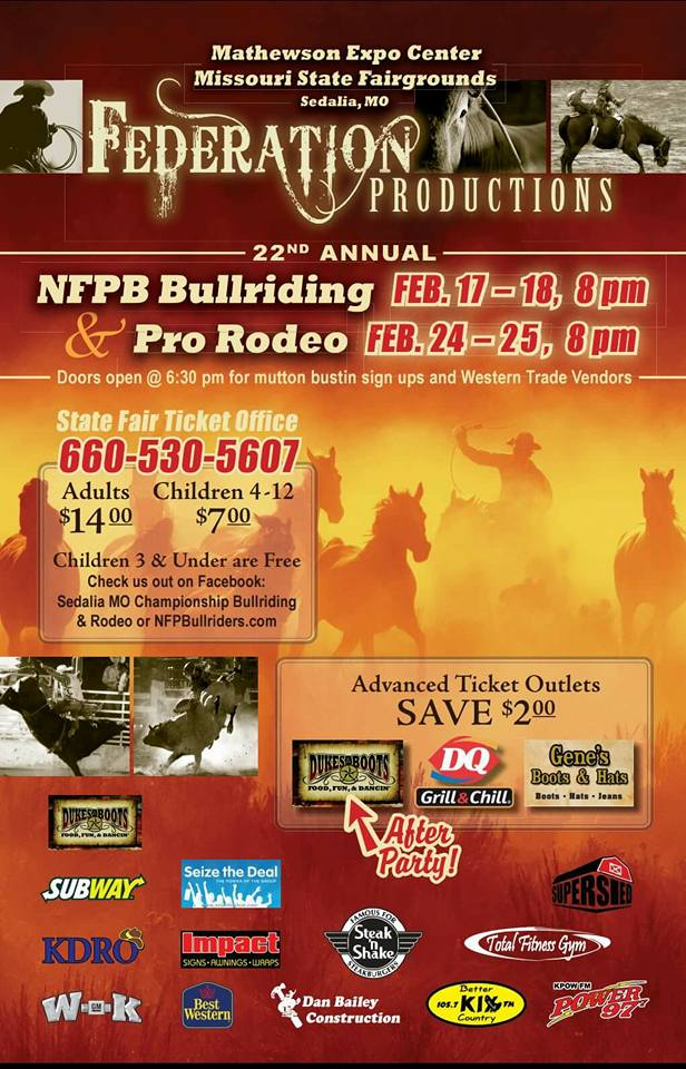 Nfpb Bull Riding And Pro Rodeo 2019