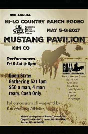 Hi Lo Country Ranch Rodeo Working Ranch Cowboys Association